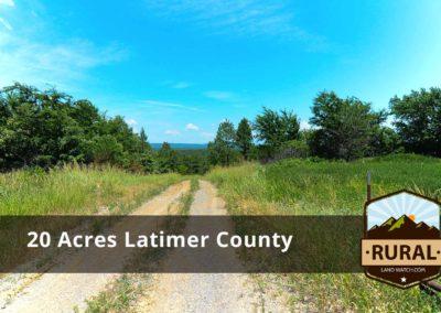 20 Acres – Latimer County, OK