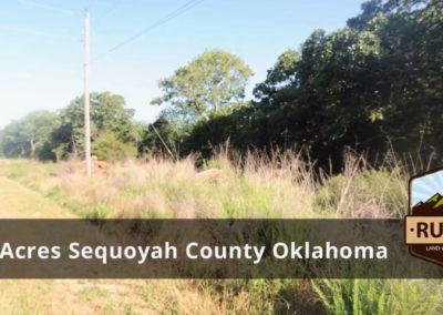 5 Acres Sequoyah County, OK