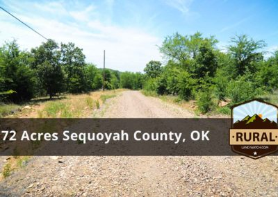 6.72 Acres near Sallisaw, OK