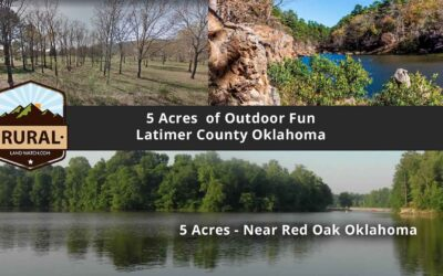 5 Acres, Latimer County, OK