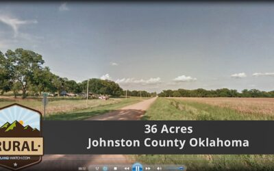 36.5 Acres, Johnston County, OK