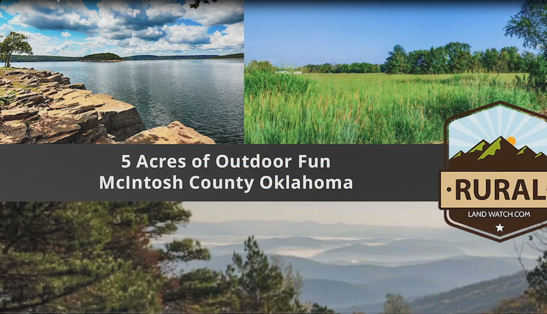 5 Beautiful, Buildable Acres, McIntosh County, Oklahoma