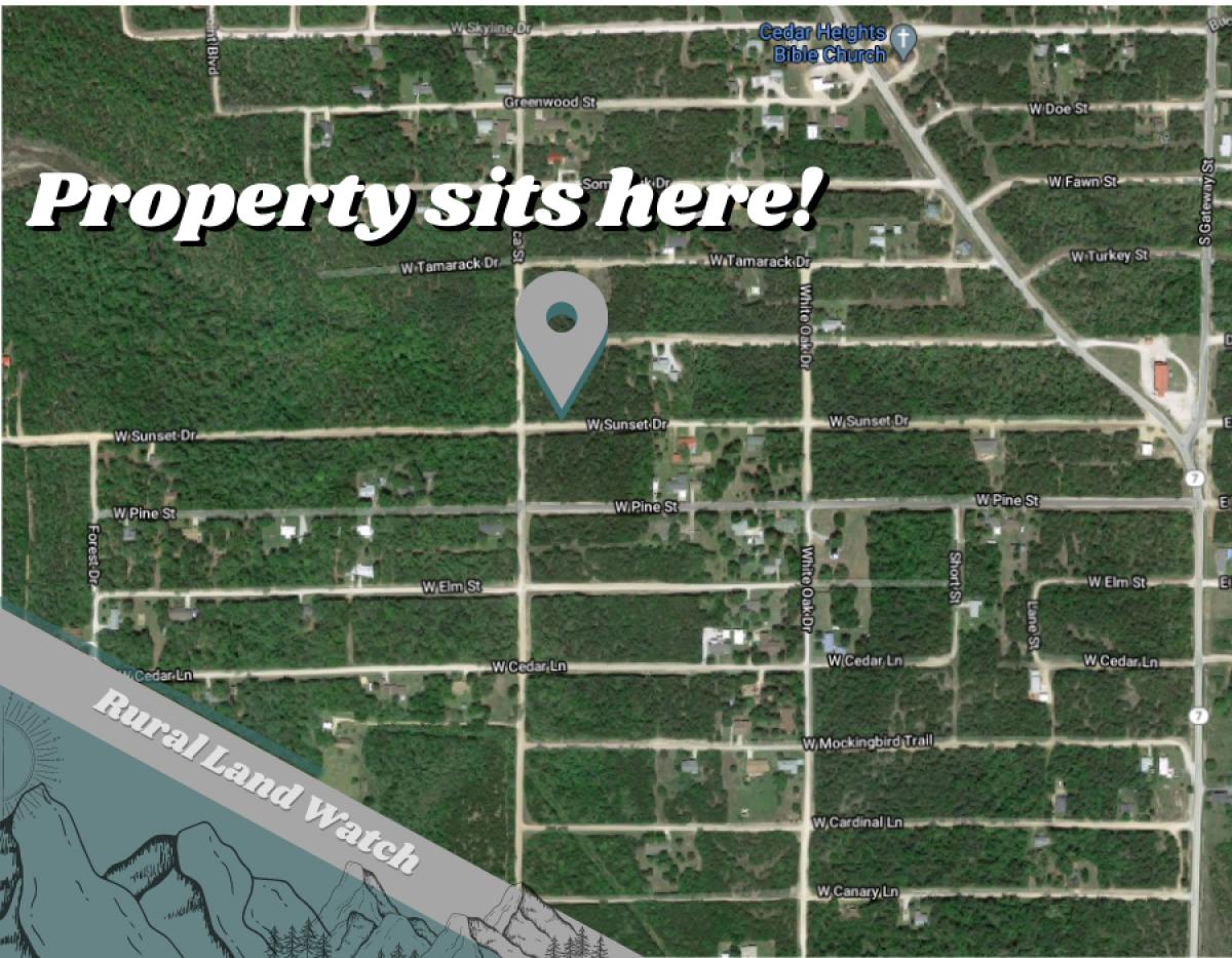 Sunset Drive, Diamond City, Arkansas 72644, ,Land,For Sale,Sunset,1012