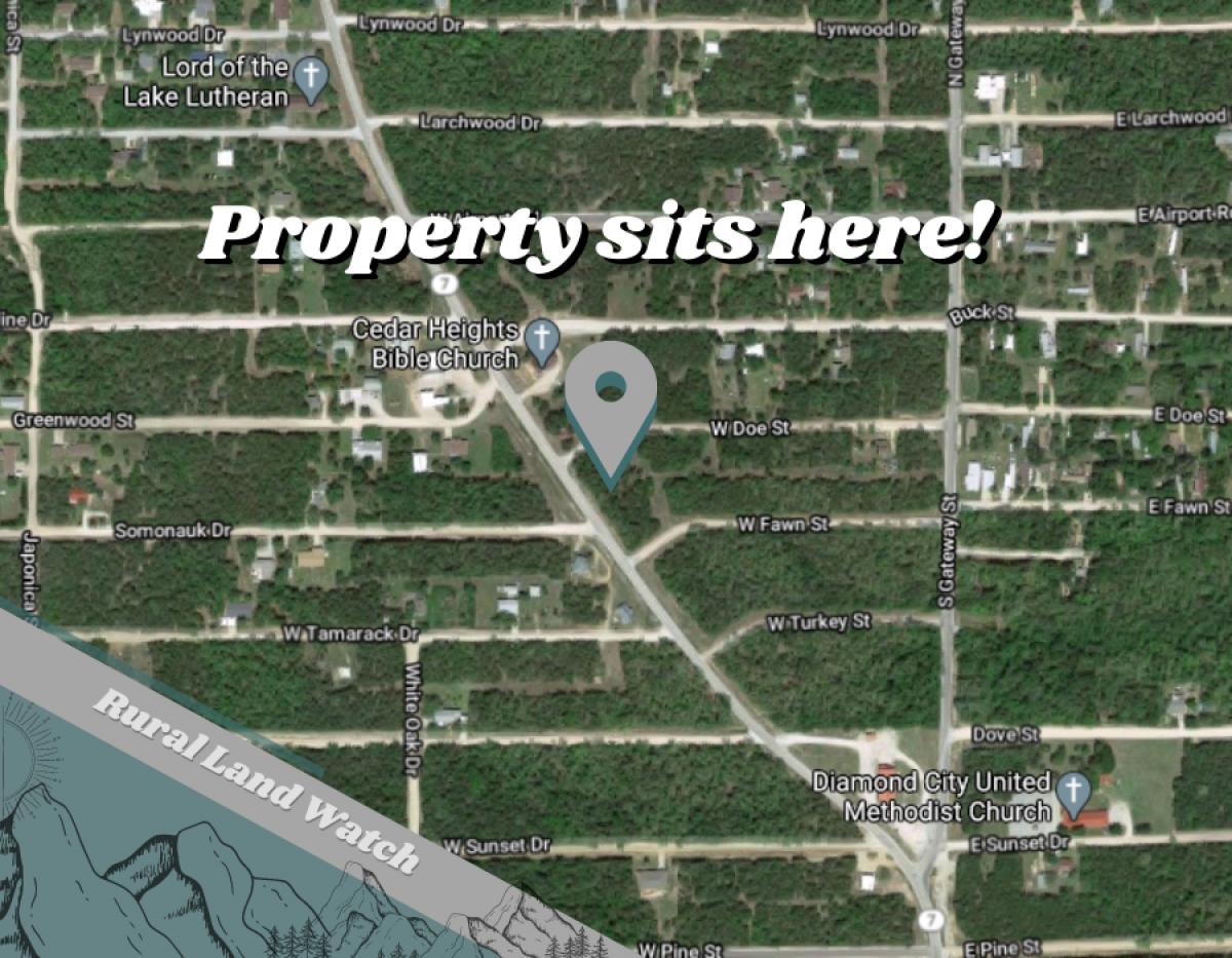 S Diamond Blvd, Diamond City, Arkansas 72644, ,Land,For Sale,S Diamond,1007